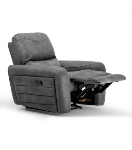 Hudson Single Recliner - Charcoal | Recliners | Living | Cielo -