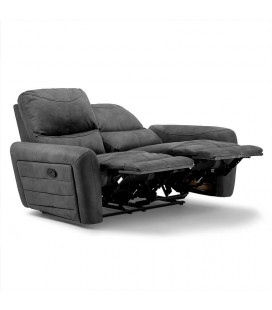Hudson 2 Seater Recliner - Charcoal | Recliners | Living | Cielo -