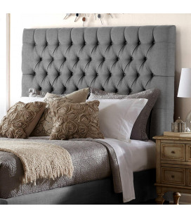 Kate bed - Queen XL | Harmony Dark Grey