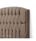 Charlotte Bed - Queen XL   Everest Stone