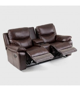Christopher Leather Cinema Incliner - 2 Seater
