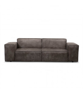Jagger Three Seater Couch - Graphite| Fabric Couches | Living | Cielo -