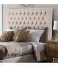 Kate Queen Headboard | Harmony Stone