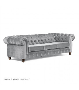 Stanfield Couch - Velvet Grey | Couches | Fabric Couches | Lounge | Living | Cielo -