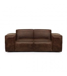 Jagger Two Seater Couch - Spice | Fabric Couches | Living | Cielo -