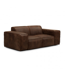 Jagger Two Seater Couch - Spice -