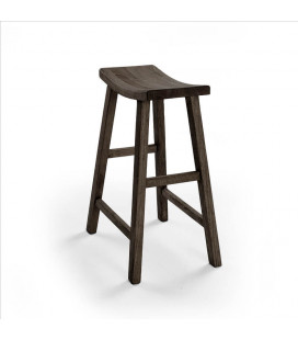 Ryder Wooden Bar Stool - Smoked Oak | Bar Stools for Sale | Bar Stools | Bar Chairs | Cielo | -