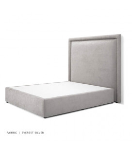 Elizabeth Bed - Queen | Everest SIlver