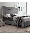 Drew Bed - Double | Fusion Grey