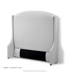 Audrey Headboard - Single | Harmony Grey