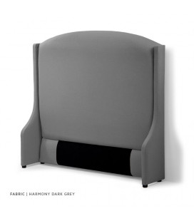Audrey Headboard - Queen | Harmony Dark Grey