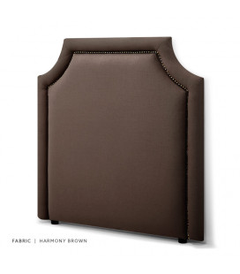 Rachel Headboard Single | Harmony Brown