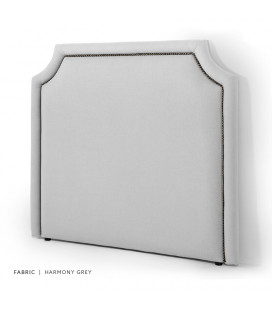 Rachel King Headboard | Harmony Grey