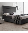Drew Bed - Double | Fusion Deep Grey