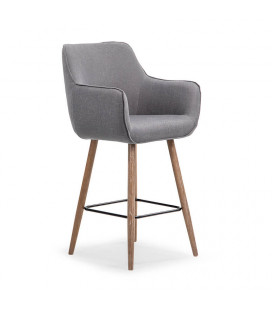 Riley Bar Chair - Dark Grey