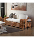 3 Seater Portland Wicker Couch   Patio Couch for Sale -
