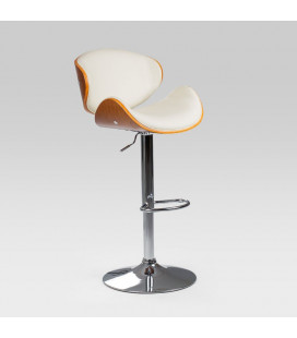 Tristan Bentwood Tub Bar Chair - Beige| Bar Chairs for Sale -
