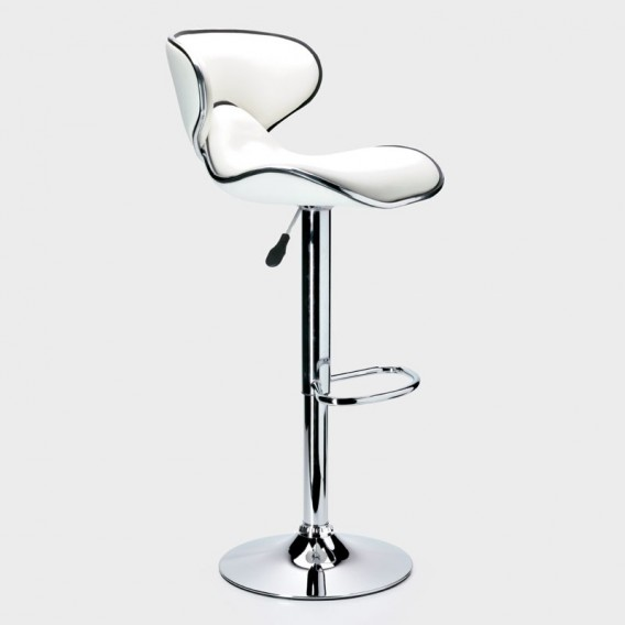 Jorja Contemporary Pu Bar Chair | Bar Chairs -