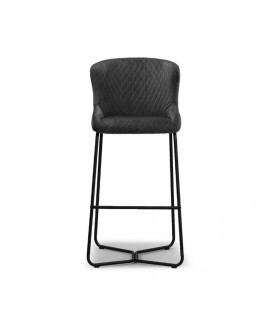 Mayfield Tall Bar Chair - Graphite | Dining | Bar Chairs | Dining Room Furniture | Cielo -