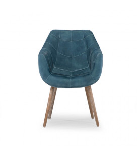 Grace Dining Chair - Dark Teal & Ash | Dining Chair | Dining | Cielo -