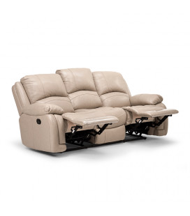 Cooper 3 Seater Recliner - Ash| Recliners | Living | Cielo -