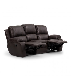 Oxford Recliner Set 3,1,1 - Brown