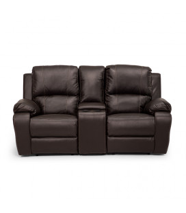 Oxford Cinema Recliner Set - Brown 3,1,1 | Recliners | Living | Cielo -