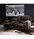 Oxford Cinema Recliner Set - Brown 3, 2 , 1 with console -