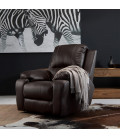 Oxford Single Recliner - Brown