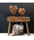 Teakroot Heart on Stand - Large | Decor | Decorative Items | Cielo -