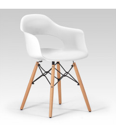 Hazel Dining Chair White Dining Chairs Dining Chairs Cielo