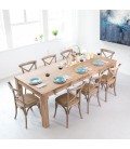 Vancouver Dining Set 2.4m