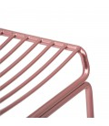 Lux Counter Bar Chair - Rose Gold -