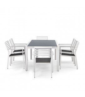 San Benito Dining Set - 6 Seater | Dining Sets | Patio | Outdoor | Cielo -