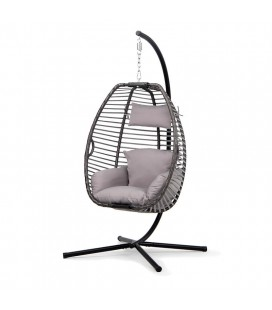 Olin PE Rattan Hanging Chair| Hanging Chairs | Patio | Outdoor -