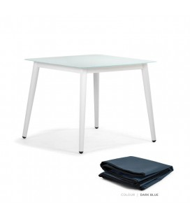Silvio Dining Table - Protective Cover - Dark Blue