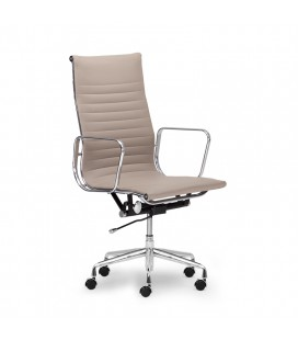 Soho High Back Office Chair - Taupe | Office Chairs | Office | Chairs | Cielo -