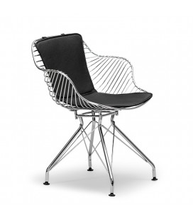 Alastair Dining Chair - Chrome | Dining | Dining Chairs | Dining Room Furniture | Cielo -