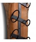 Carsani Hanging Wine Rack - Left   Wine Racks   Decor   Cielo -