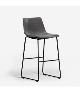 Halo Tall Bar Chair - Storm Grey