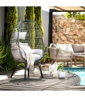 Olin PE Rattan Patio Chair | Patio Chairs | Patio | Outdoor -