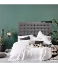 Ryland Headboard - Queen | Harmony Dark Grey