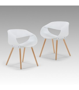 Wyatt Dining Room Chair - White - Set of 2 | Dining Room Chairs for Sale -