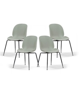 Ronan Dining Chair - Green - Set of 4 | Dining Room Chairs for Sale -