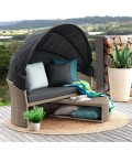 Burma Patio Daybed - Stone | Daybeds | Patio | Outdoor | Cielo -