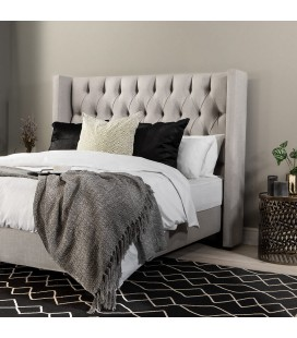 Hailey - Queen Headboard | Alaska Taupe