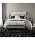 Hailey Bed - Single XL | Alaska Taupe