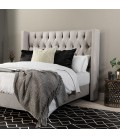 Hailey Bed - Three Quarter | Alaska Taupe
