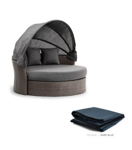 Burma Daybed Protective Cover - Dark Blue