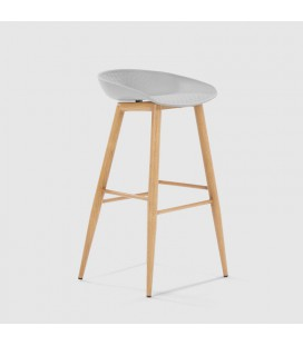 Hunter Bar Stool - White